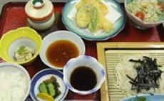 季節限定ソーメン定食(冷)